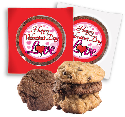 Valentine's Day Cookie Scone Singles - Love