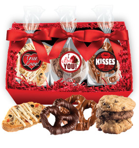 Valentine's Day Basket of Treats - Traditional