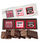 Valentine's Day Cookie Talk 6pc Chocolate Graham Box - You & Me
