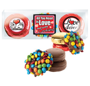 Valentine's Day Cookie Talk M&M & Chocolate Oreo Trio - Love