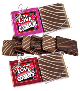 Valentines Day  Chocolate Graham Duo