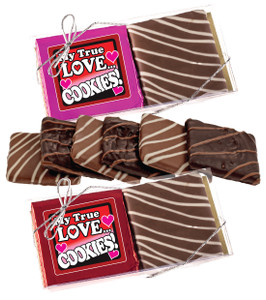 Valentine's Day Chocolate Graham Duo - Humor