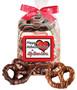 Valentine's Day Gourmet Chocolate Pretzel Bag - True Love