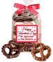 Valentine's Day Gourmet Chocolate Pretzel Bag - Business