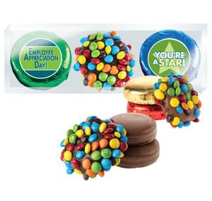 Employee Appreciation Cookie Talk Mini M&M & Chocolate Oreo Trio