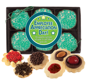 Employee Appreciation 12pc Butter Cookie Box