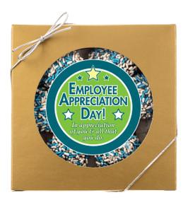 Employee Appreciation Raspberry Sandwich Butter Cookies