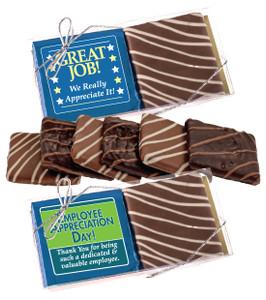 Employee Appreciation Chocolate Graham Duo