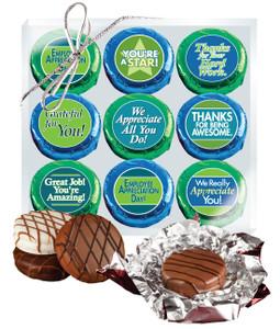 Employee Appreciation Cookie Talk 9pc Chocolate Oreo Box