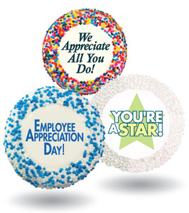 Employee Appreciation Custom Printed Chocolate Oreo