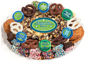 Employee Appreciation Caramel Popcorn & Cookie Assortment