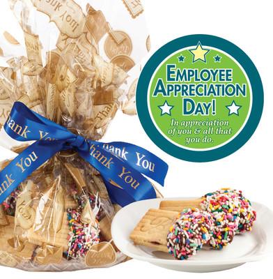 Employee Appreciation Raspberry Filled Butter Cookie Platter