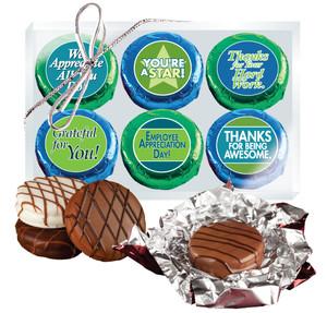 Employee Appreciation 6pc Chocolate Oreo Box