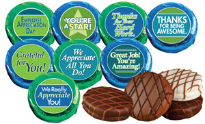 "Employee Appreciation  ""Cookie Talk"" Chocolate Oreos  W/ Messages"