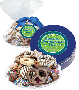 Employee Appreciation Cookie Assortment Supreme - Cookies, Pretzel & Candy