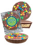 Employee Appreciation Peanut Butter Candy Pie - M&M