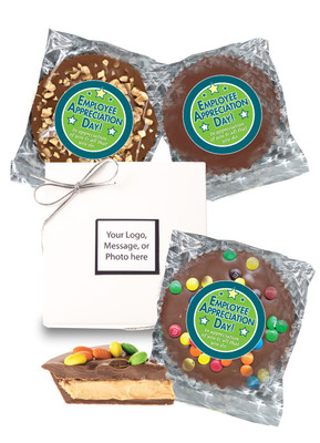 Employee Appreciation Peanut Butter Candy Pie