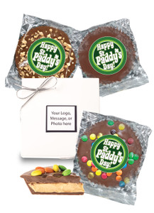 St Patrick's Day Peanut Butter Candy Pies