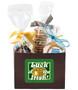 St Patrick's Day Basket Box of Gourmet Treats