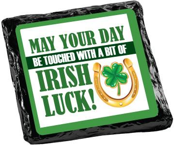 St. Patrick's Day Cookie Talk Chocolate Grahams