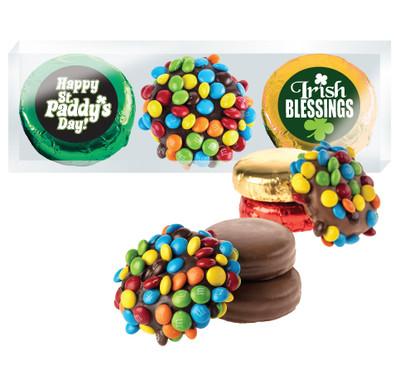 St Patrick's Day Mini M&M & Chocolate Oreo Trio