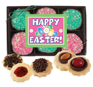 Easter Decorated Butter Cookies