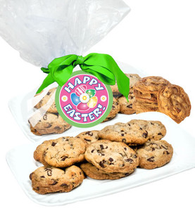 Easter Chocolate Chip Butter Cookies