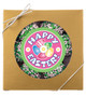 Easter Raspberry Filled Butter Cookies - Gold Boxed