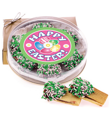 Easter Raspberry Filled Butter Cookies