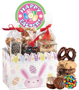 EASTER/ SPRING  BASKET BOX OF GOURMET TREATS