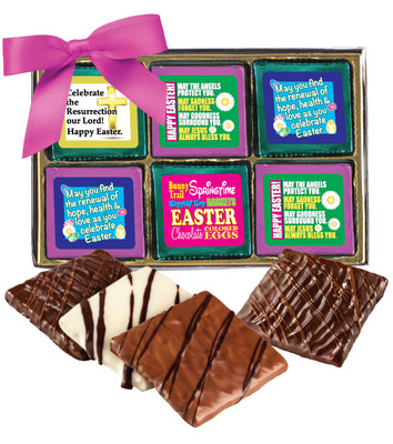 Easter Cookie Talk 12pc Chocolate Graham Box