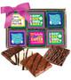 Easter Cookie Talk 12pc Chocolate Graham Box