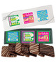 Easter Cookie Talk 6pc Chocolate Graham Box