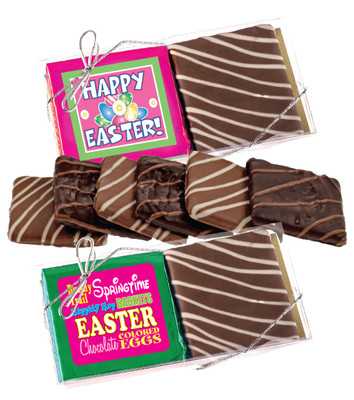 Easter Cookie Talk Chocolate Graham Duo