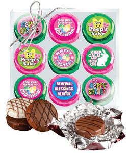"EASTER/ SPRING ""COOKIE TALK""  CHOCOLATE OREO 9 Pc.  GIFT PACK"