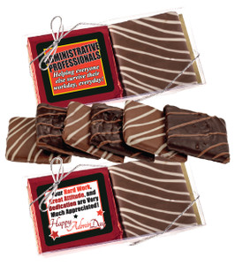 "ADMIN/ OFFICE STAFF ""COOKIE TALK"" CHOCOLATE GRAHAM DUO"