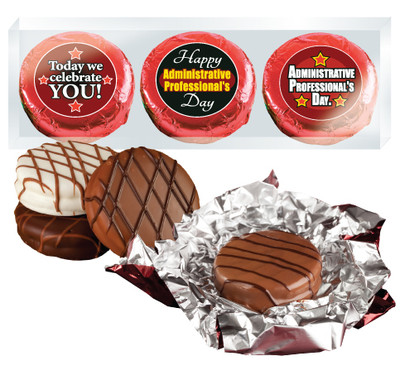 Administrative Professionals Day Chocolate Oreo Foil Trio