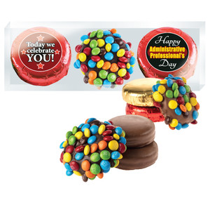 Admin/Office Staff M&M Chocolate Oreo Trio