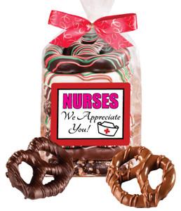 Nurse Appreciation Gourmet Pretzel Bag  8 Pc