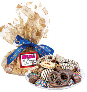 Nurse Appreciation  Cookie Assortment Supreme - Cookies, Pretzel & Candy