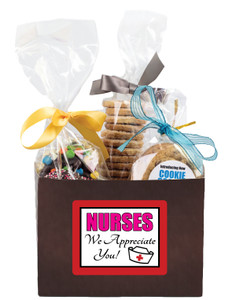 NURSE APPRECIATION BASKET BOX OF GOURMET TREATS