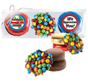 Teacher Appreciation Chocolate Oreo & Mini M&M Trio