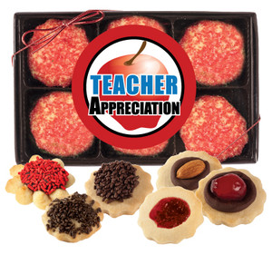 Teacher Appreciation 12pc Butter Cookie Box