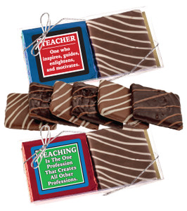 TEACHER APPRECIATION CHOCOLATE GRAHAM DUO