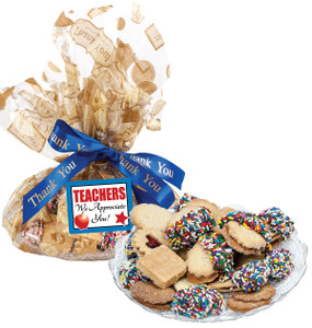 Teacher Appreciation Butter Cookie Platter