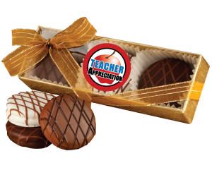 Teacher Appreciation - Chocolate Drizzled Oreo Trio