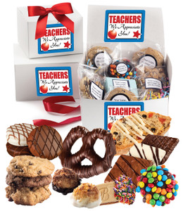 TEACHER APPRECIATION BOX OF TREATS
