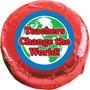Teachers change the world Chocolate Oreo