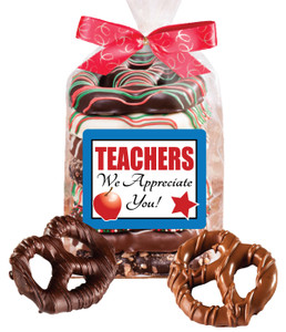 TEACHER  APPRECIATION PRETZEL BAG