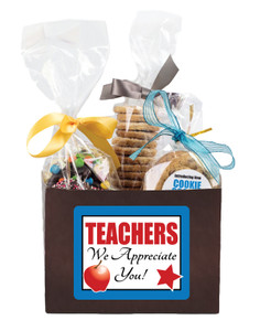 TEACHER APPRECIATION BASKET BOX OF GOURMET TREATS